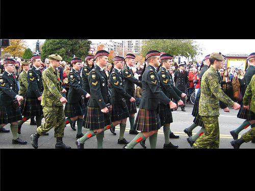Canadian Scottish Marchpast