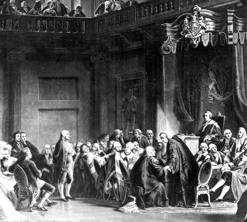 Benjamin Franklin at the Court of St. James