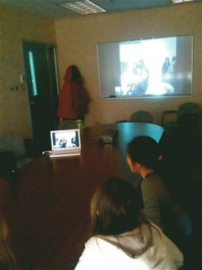 Skyping with Dr. Alec Couros