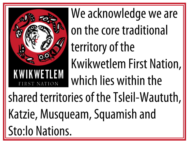 Logo used with permission from the Kwikwetlem First Nation.